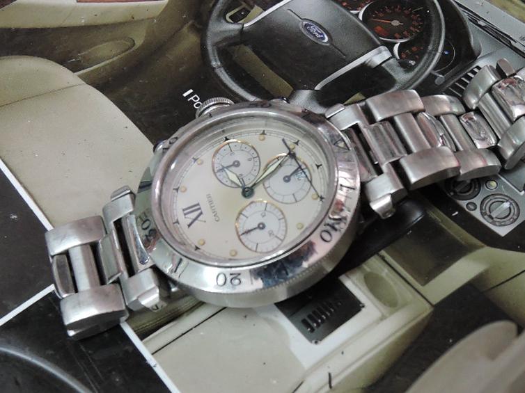 wholesale dealer 4364b 4fe95 実験】カルティエ銀座店で修理費8万円越えの腕時計、どうすれば ...